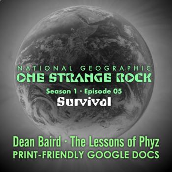 One Strange Rock: 5. Survival - Video Question Set