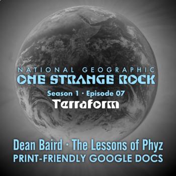 One Strange Rock: 7. Terraform - Video Question Set