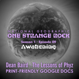 One Strange Rock: 9. Awakening - Video Question Set
