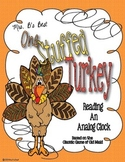 One Stuffed Turkey Card Game: Reading An Analog Clock