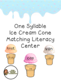 One Syllable Matching Game