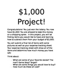 One Thousand Dollar Project