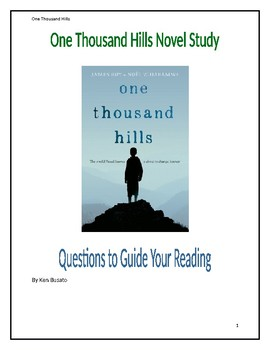 One Thousand Hills Novel Study