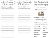 One Thousand & One Arabian Nights Trifold - Open Court 2nd Grade Unit 6 Lesson 1