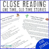 Close Reading Stories | Reading Comprehension Passages and