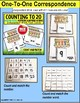 "One To One Correspondence Count To 20 SPRING EGG Task Cards ""Task Box Filler"""