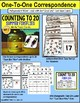 """One To One Correspondence To 20 TASK CARDS - Summer FIREFLIES """"Task Box Filler"""""""