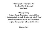 One Tough Little Coconut Mini-Book