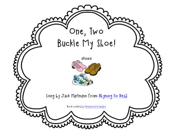 picture relating to One Two Buckle My Shoe Printable known as A single, 2 Buckle My Shoe Track Ebook
