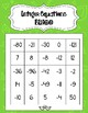 One - & Two-Step Integer Equation Bingo (3 games using the