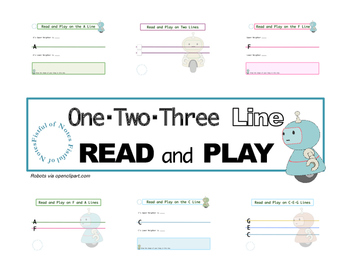 One-Two-Three Line Read and Play