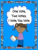 One Vote, Two Votes, I Vote, You Vote--Election Ballots, D