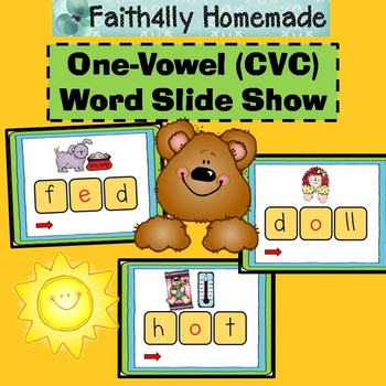 One-Vowel (CVC) Word Slide Show