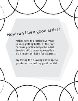 One Week Drawing Challenge