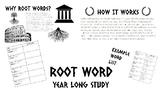 One Week of Weekly Root Words