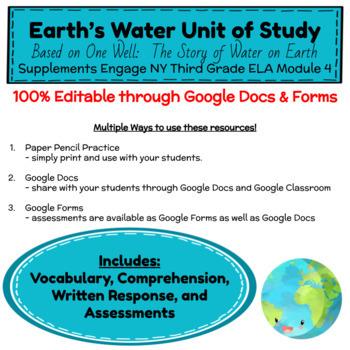 One Well Unit of Study - Engage NY Third Grade ELA Module 4 - Google Resources