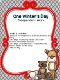 One Winter's Day Independent Work