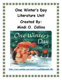 One Winter's Day Literature Unit