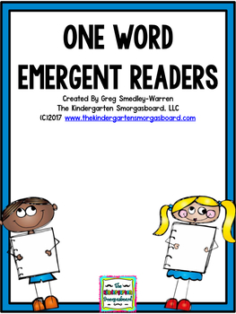 One Word Emergent Readers