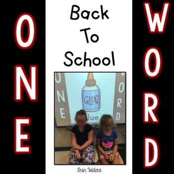 One Word Game {Back to School Version}
