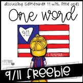 One Word discussing 9-11 with little ones {freebie}