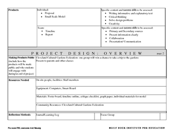 One World- Project Based Learning