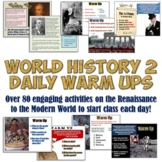 World History 2 Daily Warm Up Activities