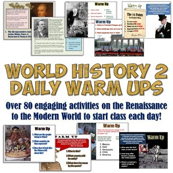 Daily Assignmentsworld History