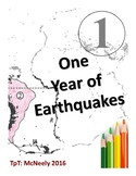 One Year of Earthquakes