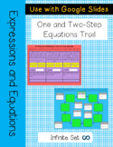 One and Two- Step Equations Digital Trail for Remote Learning