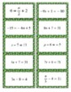 One and Two Step Equations Game