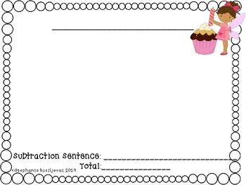 One and Two Step Story Problems- Birthday Fairy-Add and subtract with regrouping