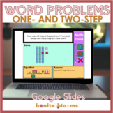 One and two step word problems for 2nd grade