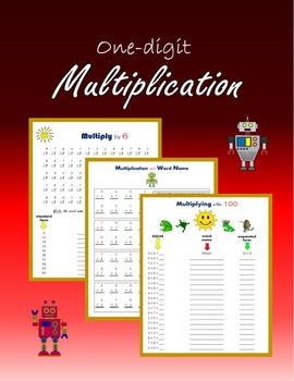 One-digit Multiplication