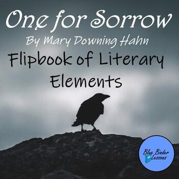 One for Sorrow novel Flipbook (Flip Book) of Literary Elements