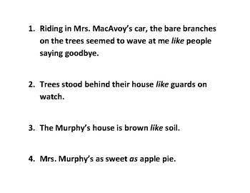 One for the Murphys Sentence Strips