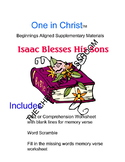 One in Christ Aligned Beginnings Isaac Blesses His Sons Supplementary Materials