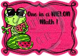 One in a MELON Math