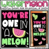 "One in a Melon ""Watermelon"" Summer Bulletin Board or Door"
