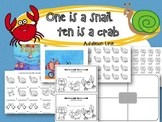 One is a snail, Ten is a crab.
