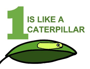 One is like a Caterpillar Number Book [Freebie!]