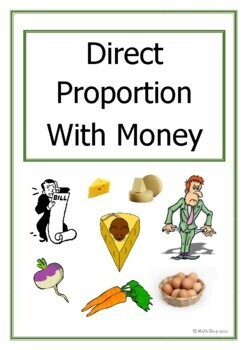 Maths - Direct proportion with Money – GCSE – Revision – UK version