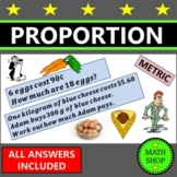 Maths - Direct proportion with Money – GCSE – Revision – U