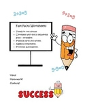 One minute fast addition and subtraction facts worksheets