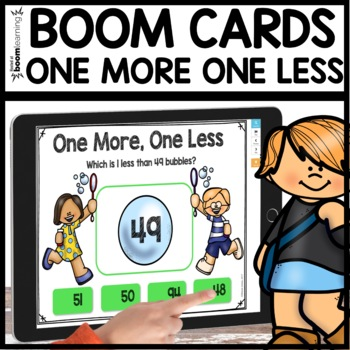 One more One Less BOOM CARDS
