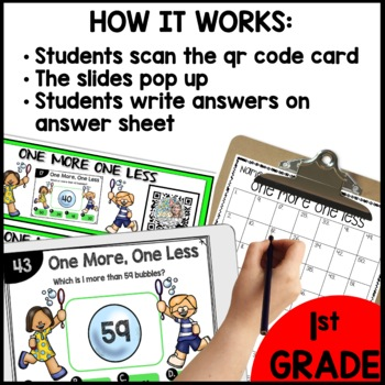One more One less DIGITAL TASK CARDS