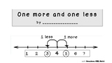 One more and one less-Kindergarten math easy reader