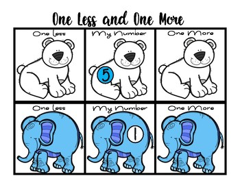 One more one less - Animals