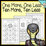 One more one less ten more ten less - Worksheets and Printables
