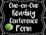One-on-One Conference Form